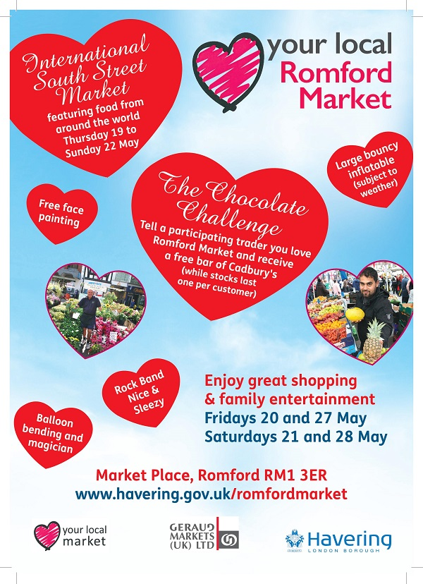 Love Your Local Market Fortnight on Romford Market