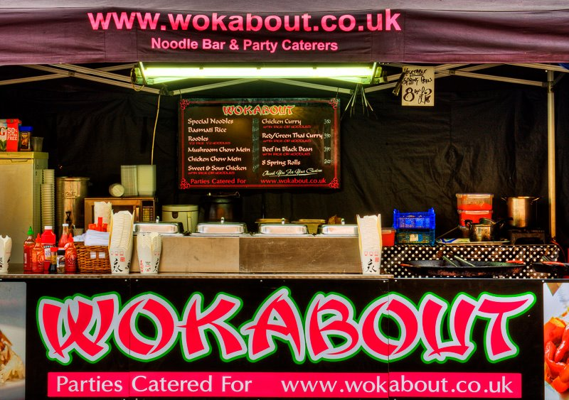 Wokabout Noodles and Coffee Bar on Romford Market